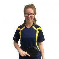 Radak Premium Sports T-Shirt – Navy/Yellow