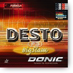 Donic Desto F3 Big Slam, Inbuilt Speed Glue Rubber