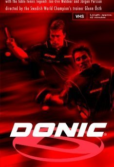 Donic DVD TECHNIQUES, TACTICS, TRICKS II