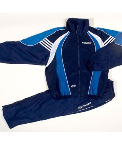Donic Track Suit Andorra Blue - High Quality - Xtra Large