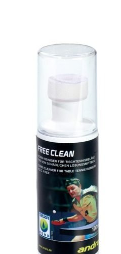 "Andro ""Free Clean"" VOC free rubber cleaner 100ml"