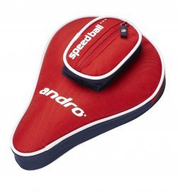 andro Batcover Basic, with Ball compartment Red/NightBlue