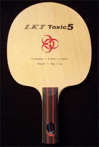 LKT Toxic 5, 5ply - Defensive / Allround -