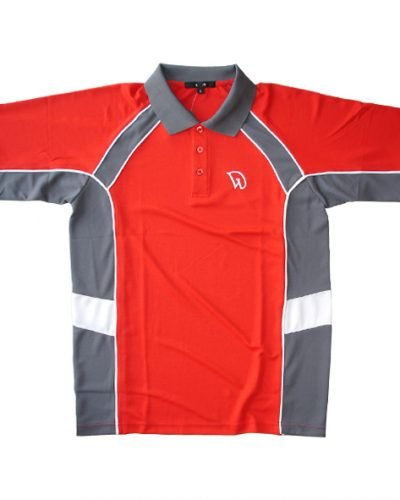 Dawei Sports Shirt Red - 100% MicroFiber Polyester