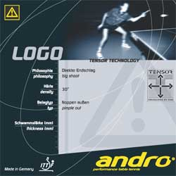 andro Logo Short PIPS with Tensor Technology - Soft Sponge