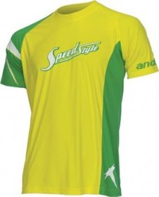 "andro T-Shirt SpeedStyle 06 Yellow ""100% Microfibre"""