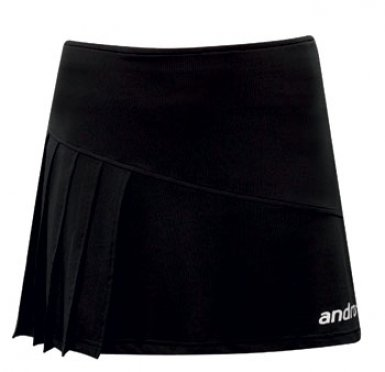andro Womens Skirt Saja, Black/White