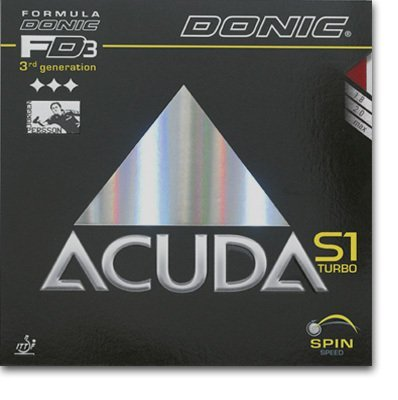 Donic Acuda S1 Turbo - 3rd Generation, Let the Fun Begin