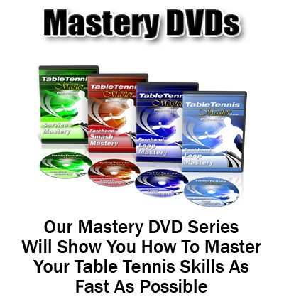 Table Tennis Master - Complete Set of 4 DVD's