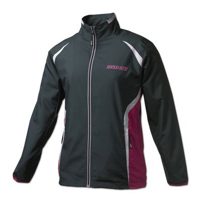 Donic Ladies Tracksuit Jacket Slide Black/Pink