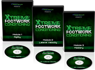 Table Tennis Master - Extreme Footwork Conditioning 3 set DVD