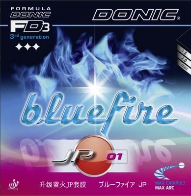 Donic Bluefire JP 01 - 4th Generation, the blue miricle