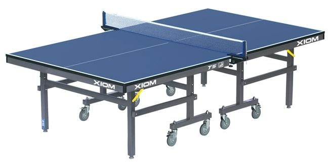 Xiom T5 Table Tennis Table, 25mm Top, Wheelchair Friendly