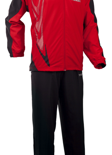 Tibhar Tracksuit Boomarang Complete Red/Black
