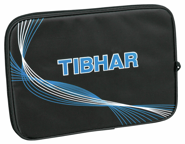 Tibhar Batcover Jazz Rectangular, Black/Blue