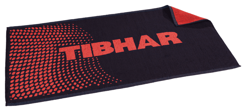 Tibhar Towel Point Black/Red