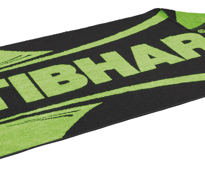 Tibhar Towel Scala Black/Green