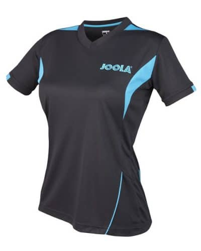 JOOLA SHIRT LADY FALK, Black 100% Polyester