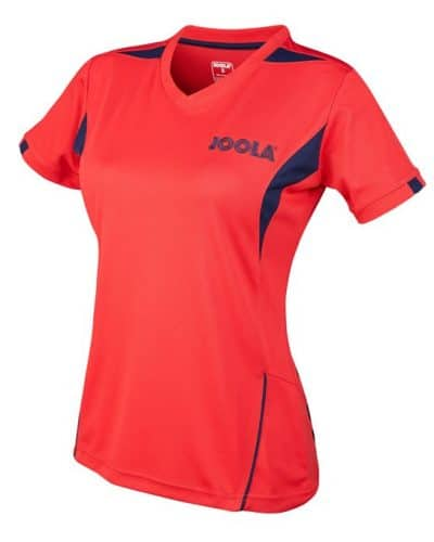 JOOLA SHIRT LADY FALK, Red 100% Polyester