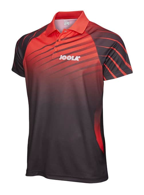 JOOLA SHIRT ARUS  Red 100% Polyester