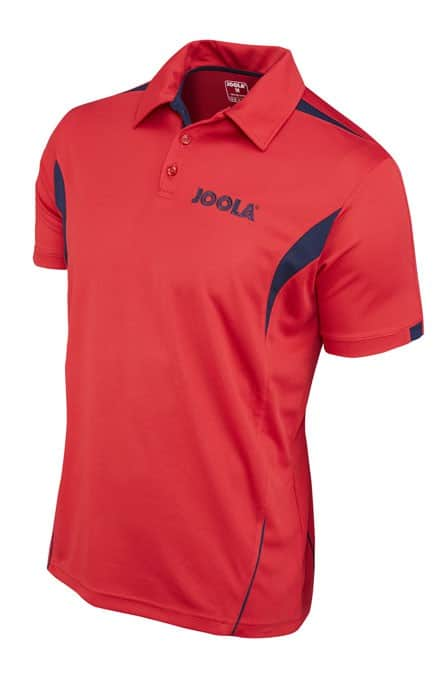 Joola SHIRT FALK  Red 100% Polyester