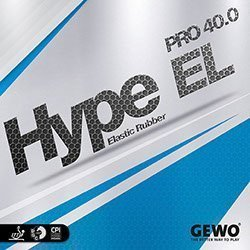 Gewo Table Tennis Rubber Hype EL Pro 40.0