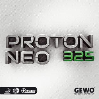 Gewo Table Tennis Rubber Proton NEO 325