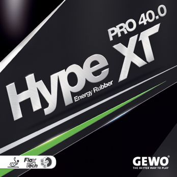 Gewo Table Tennis Rubber Hype XT Pro 40.0