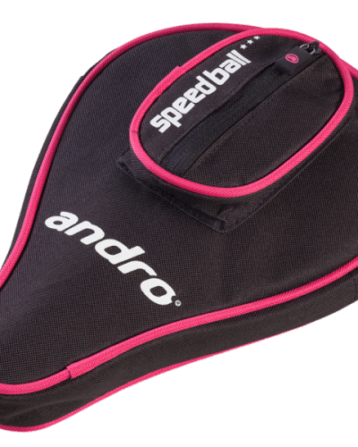 andro Batcover Basic, with ball compartment Blue/Magenta