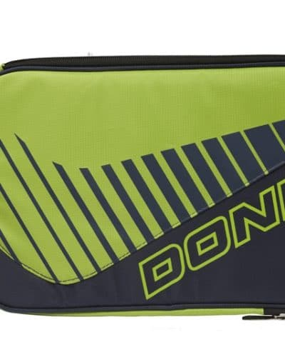 "Donic ""Double bat Wallet Scan""  - Lime/Grey"
