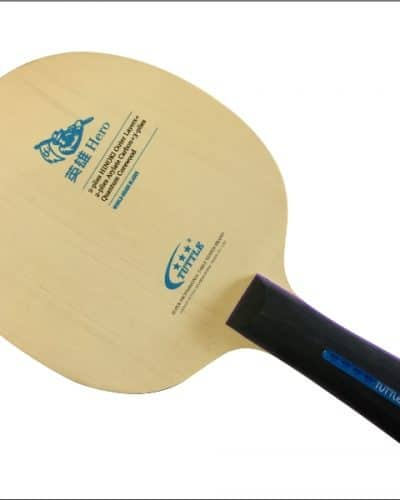 Tuttle Hero Table Tennis Blade - 7ply Arylate Carbon Offensive