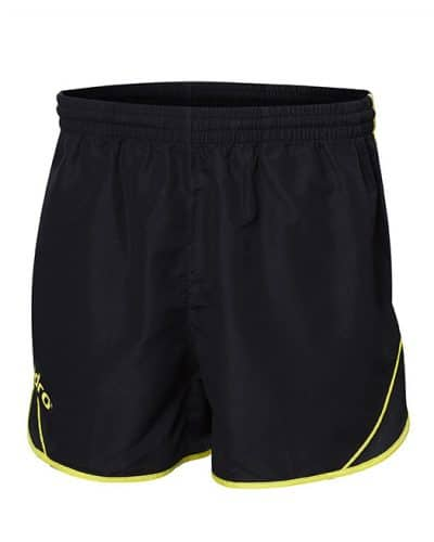 andro Table Tennis Shorts Evora Black/Yellow