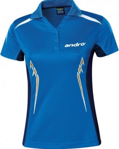 andro Polo Women Navas Blue/Dark Blue/Gold