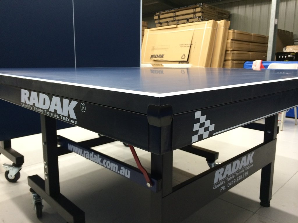table tennis table radak pro roller 25 just table. Black Bedroom Furniture Sets. Home Design Ideas