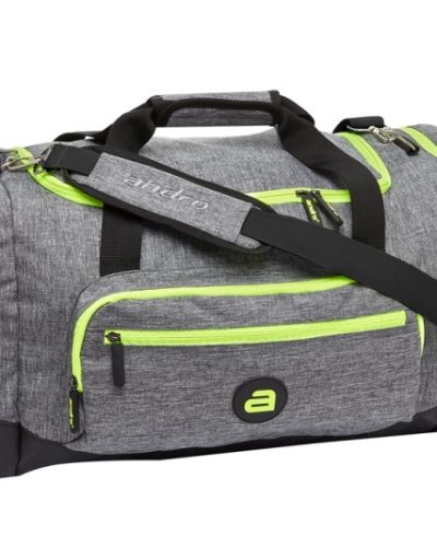 Andro Sports Bag Salta Medium, Grey/Neon Green