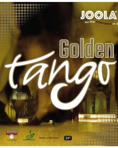 JOOLA Golden Tango - German Made Tacky Topsheet
