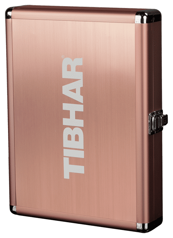 Tibhar Aluminium Bat Case CUBE Exclusive Bronze